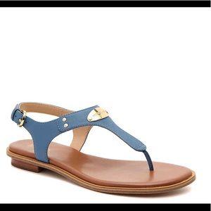 Michael Kors Chambray Blue Plate Sandal
